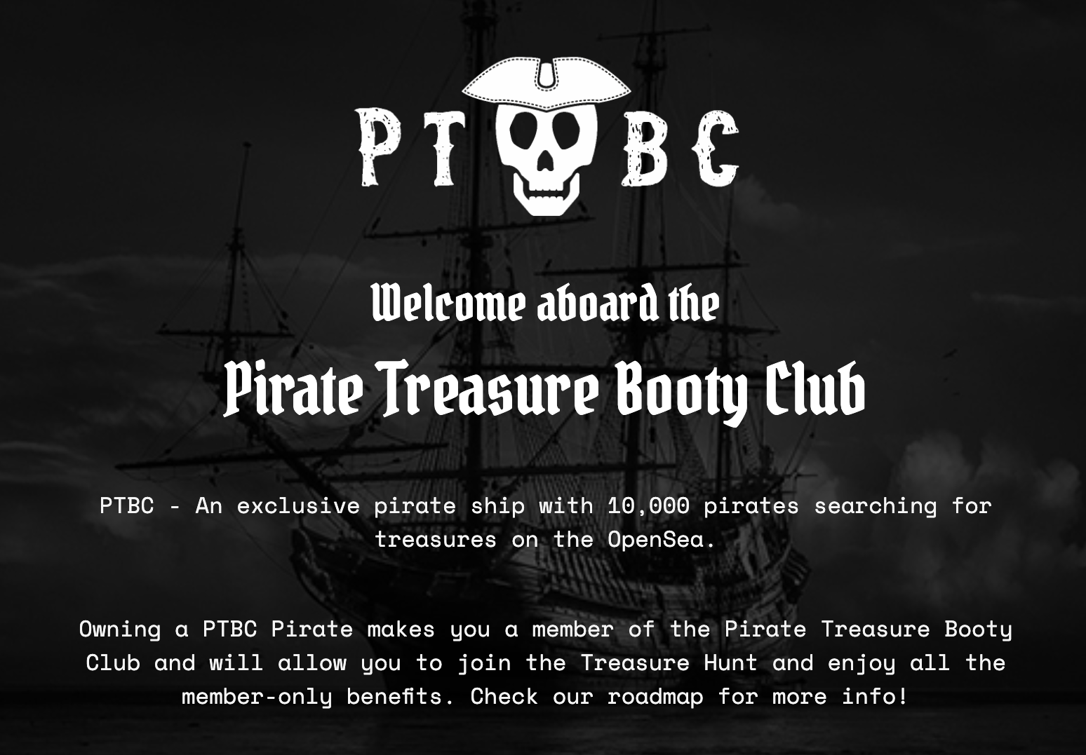 Pirate Treasure Booty Club