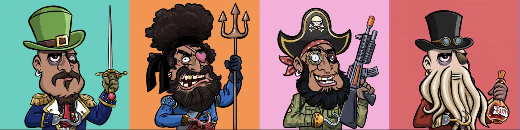 Pirate Treasure Booty Club Artwork