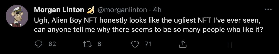 Alien Boy Art Comments on Twitter